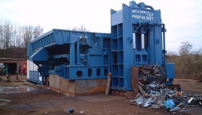 Kupfer mit Recyclingmaschinen