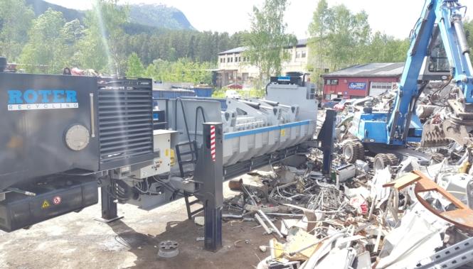 Recyclingmaschinen