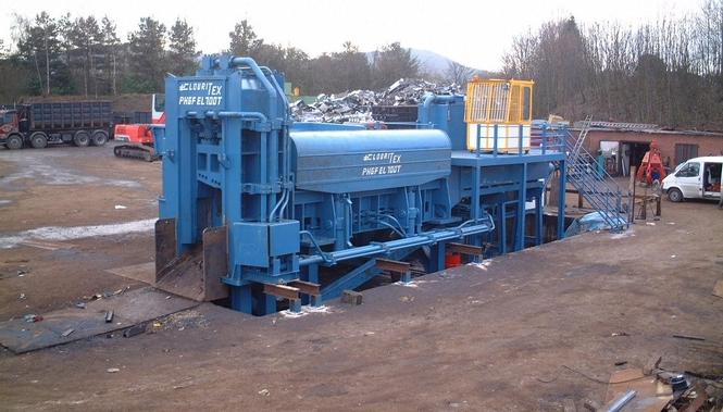 Immer mehr Stahl kommt von Recyclingmaschinen