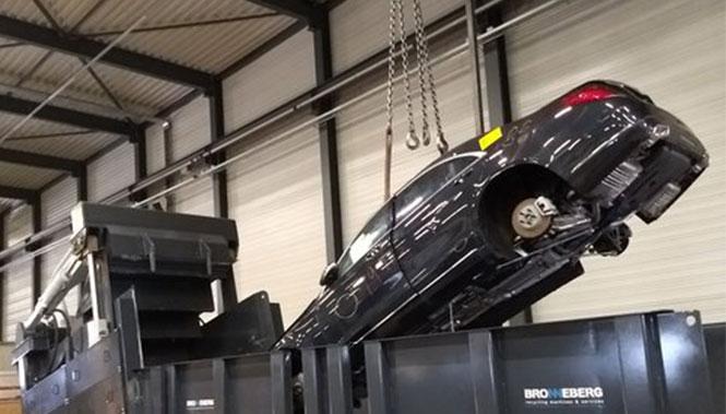 Bronneberg – Recyclingmaschinen Autopresse